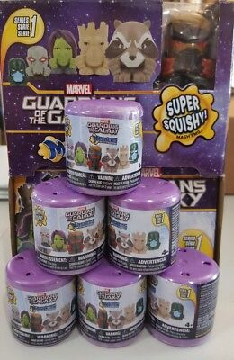 Lot Of (6) New Sealed Series 1 **guardians Of The Galaxy** Mashems-Fashems