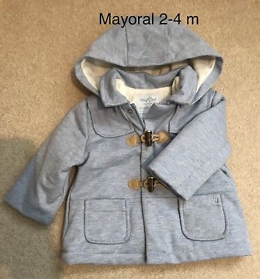 6300c5ccc BABY BOYS RED Mayoral Baby Winter Coat Jacket Raincoat 3-6 Months ...