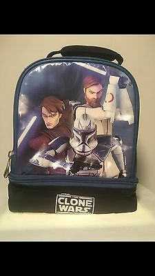 Kids Star Wars Clone Wars Insulated Lunch Bag