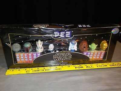 2005 Star Wars Limited Edition Pez Collector's Set New In Box. See Pics Please.
