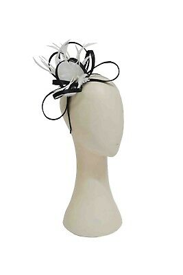 Satin Fascinator/ Head Piece Perfect For Weddings Brides Maids or the Races
