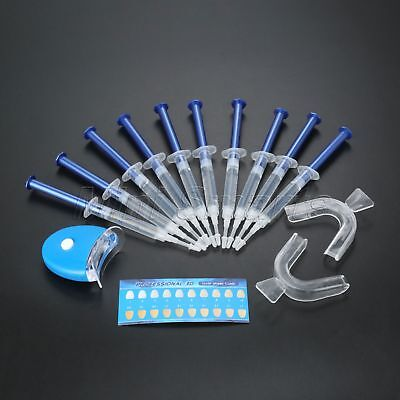 Accelerator LED White Light+10 Tubes of Teeth Whitening Gel+2 Trays+Instruction
