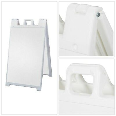 SIGNICADE 25 IN. x 45 in. Plastic Easel Shaped Heavy Duty Sign Stand ...