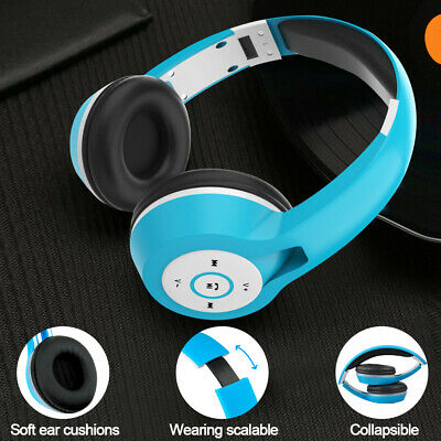 Active Noise Cancelling Bluetooth Headphone with Mic Foldable Wireless Stereo