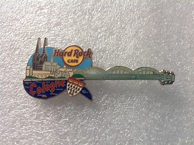 Hard Rock Cafe Pins - COLOGNE HOT 2012 CITYSCAPE GUITAR PIN!
