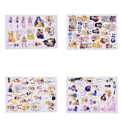Hot Sailor Moon Sticker Decal for Phone Laptop DIY Scropbooking Album Handcrafts