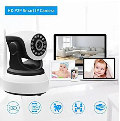 720P Home Wifi IP Wireless Surveillance Camera Remote Cam For Android iPhone PC