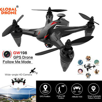 GW198 Wide-angle HD Camera 5G WIFI Auto Follow Brushless Motor Quadcopter Drone