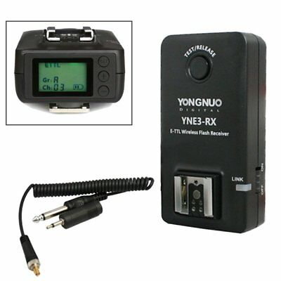 Yongnuo YNE3-RX ETTL Wireless Flash Receiver For Canon EOS 600EX-RT ST-E3-RT US