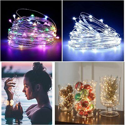 5M/10M USB LED String Light Waterproof Copper Wire String Holiday Fairy Lights