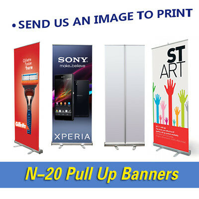 Exhibition Advertising Banner Stand Shop Sign Display Pull up Banner