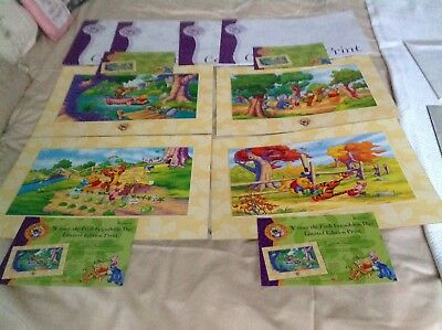 Four Winnie The Pooh Friendship Day Large Limited Edition Pictures