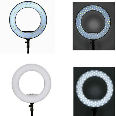 FS-390II Bi-color LED Selfie Ring Lighting With Table Stand For Live Stream US !