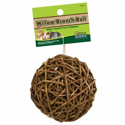 Ware Manufacturing Willow Branch Ball Friendly Material Small Animal Toy 4 inch