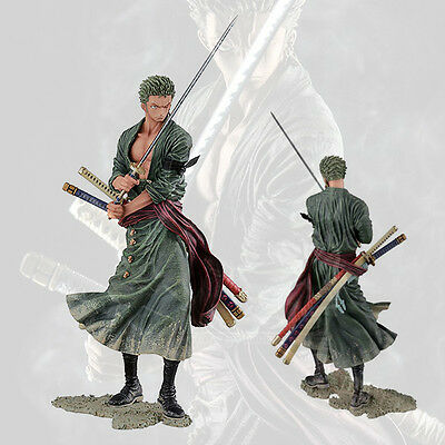 Collections Anime Figure Toy One Piece Roronoa Zoro Figurine Statues 21cm