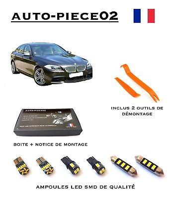 Pack FULL LED intérieur pour BMW Série 5 F10 F11 ( Version light )