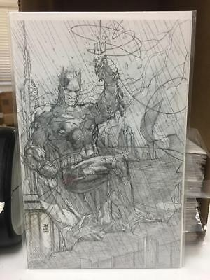 Justice League #1 Jim Lee Pencils Only Virgin 1:500 Variant Edition Dc Comics Nm