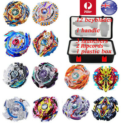 12X SET Beyblade Burst Evolution Arena Launcher Battle Stadium B-day Gift Toy AU