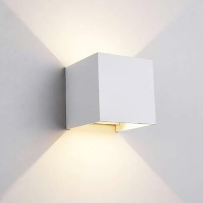 3W LED Contemporary Indoor Outdoor Up&Down Wall Sconces Lights Square Lamp New