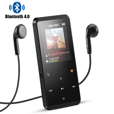 16GB Bluetooth 4.0 MP3 Player with Speaker, AGPTEK Portable Lossless MP3 Player