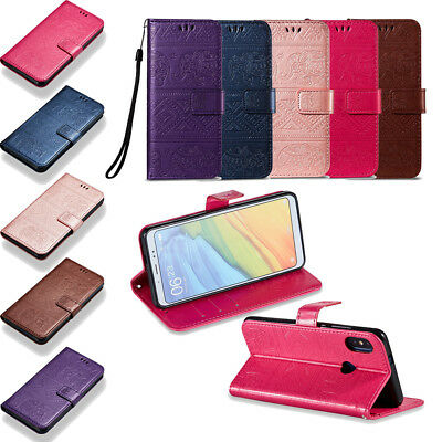 Luxury High Quality Leather Flip Wallet Case Cover For Xiaomi Redmi 5 Plus/Mi 5S