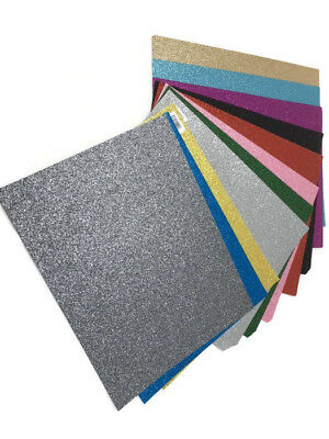 Glitter Felt Sheets 23cm x 30cm felt craft  bow making Buy 4 get one Free