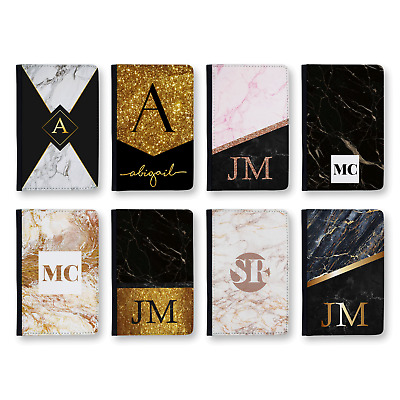 Personalised Glitter Effect Monogram 1 | Printed Passport Cover & Luggage Tag