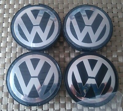 4X Vw Volkswagen Center Wheel Caps 63Mm 64Mm Passat 7D0 601 165 7D0601165