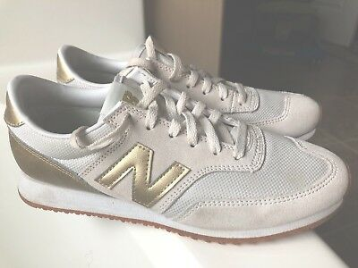 WOMEN'S NEW BALANCE 620 for J.Crew Gold Salt Sneakers Size 9
