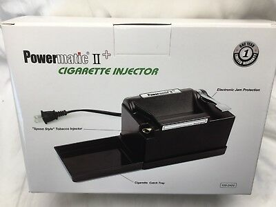 New Powermatic Ii+ 2+ Electric Cigarette Rolling Machine Injector