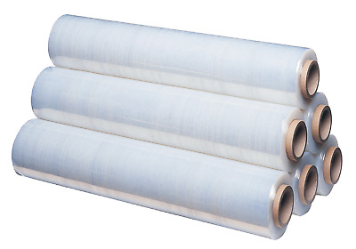 A-Z Bargainz Clear Pallet Shrink Wrap Stretch Cling Film Standard Core 400mm