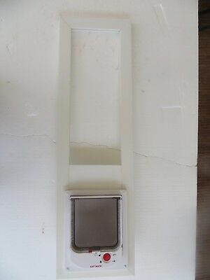 Electromagnetic vinyl glass window 32-39 high, 6 x 6 opening up to 15 lb by CAT
