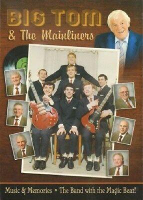 Big Tom & The Mainliners A4 Booklet - The Band with the Magic Beat! Rare Edition