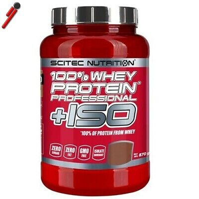Scitec Nutrition, 100% Whey Protein Professional + ISO, 870 g Proteine + Isolate