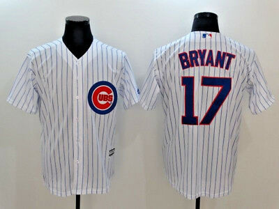 Kris Bryant #17 Chicago Cubs 2016 World Seris Cool Base MLB Jerseys (NWT)