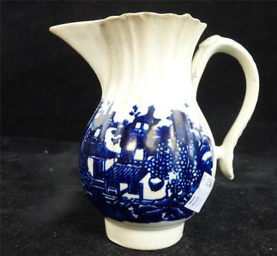 18Th Century Antique English Pearlware Milk Jug Creamer