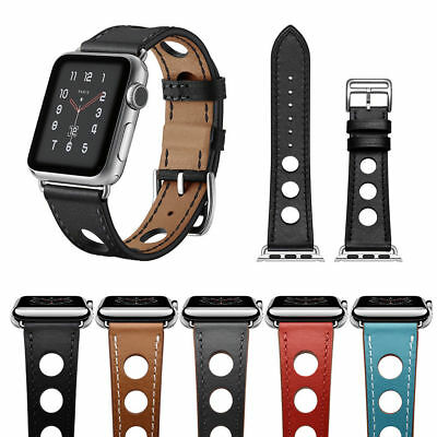 Rallye Single Tour Genuine Leder Armband Band Für Apple Watch Series 3/2/1 DE