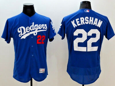 Clayton Kershaw #22 Log Angeles Dodgers Flex Base MLB Jerseys (NWT)