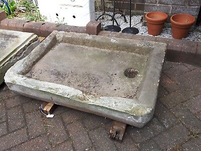 Large Old Stone Trough - Garden Feature Planter