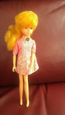 Takara-Made-In-Japan-Licca-Doll-Golden Blond -Used- Very Rare