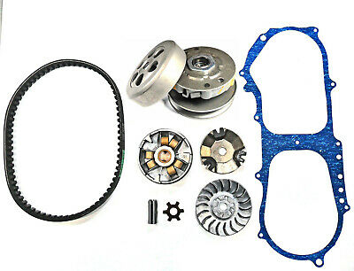 ETON E-ton Beamer 50cc 2 Stroke Scooter Front Clutch, Rear Clutch and Belt Kit