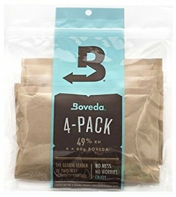 Boveda RH 2-Way Humidity Control For Herbal, Cigars, Wood Muscial Instruments