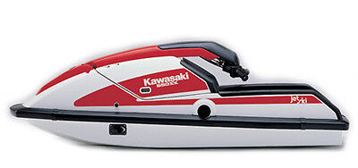 87-90 Kawasaki Jet Ski 650SX Watercraft Service Repair Manual CD - JetSki 650 SX