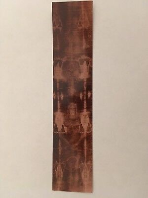 SHROUD OF TURIN 7 x 1.5 BOOKMARK FULL IMAGE FROM OUR ORIGINAL 1898 PHOTO