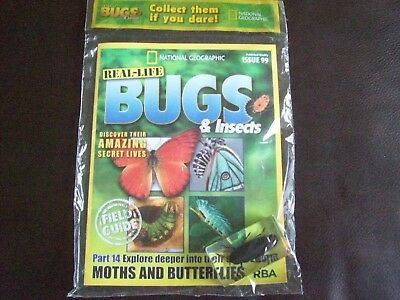 National Geographic Real-life Bugs & Insects magazine Issue 99