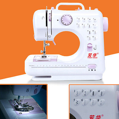 New 12 Stitches Multifunction Electric Overlock Sewing Machine Sewing Hom New