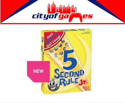 5 Second Rule Junior Jr Board Game Brand New