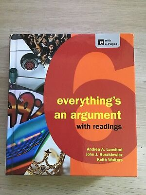 Everything's An Argument With Readings 6