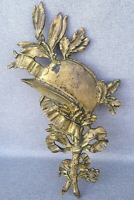 Big and heavy antique furniture ornament made of ormolu France early 1900's