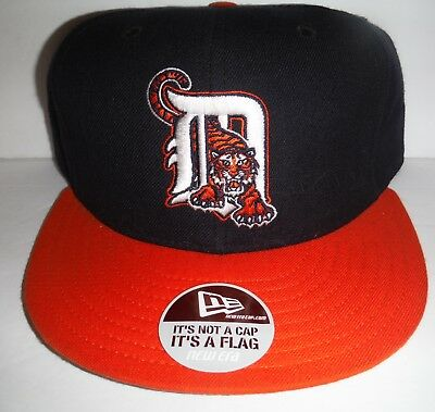 promo code 71da2 4ebfc Detroit Tigers Vintage New Era 59Fifty Diamond Collection Fitted Size 6 7 8  Hat